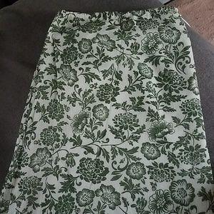 Eddie Bauer Skirts - Eddie Bauer Printed Gauze shirt